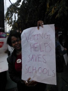 Voting Helps Save Schools